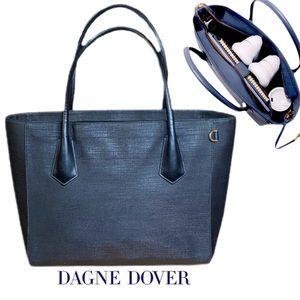 Dagne Dover Work Tote in Onyx